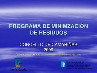 PROGRAMA DE MINIMZACI�N DE RESIDUOS
