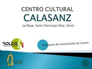 CENTRO CULTURAL CALASANZ