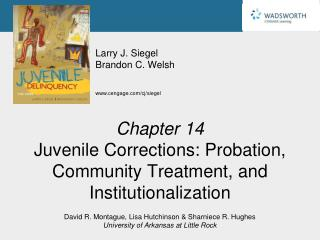 Chapter 14 Juvenile Corrections: Probation, Community Treatment, and Institutionalization