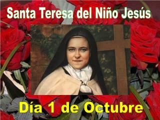 Santa Teresa del Ni�o Jes�s