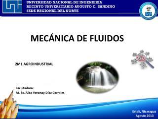 MEC�NICA DE FLUIDOS