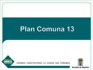 Plan Comuna 13