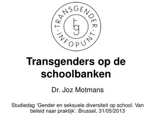 Transgenders op de  schoolbanken