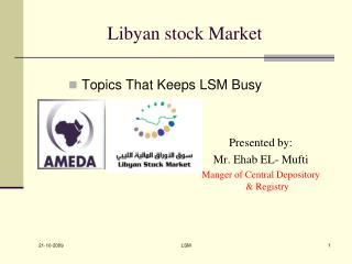 Libyan stock Market
