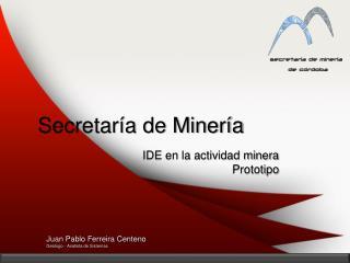 Secretaría de Minería