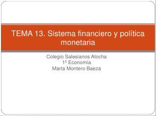 Colegio Salesianos Atocha 1� Econom�a Marta Montero Baeza