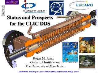 Status and Prospects  for the CLIC DDS