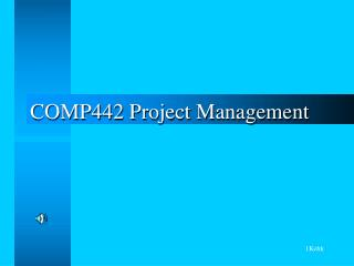 COMP442 Project Management