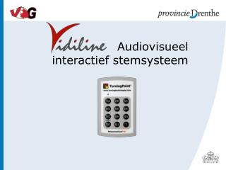 Audiovisueel interactief stemsysteem