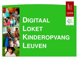Digitaal  Loket Kinderopvang Leuven