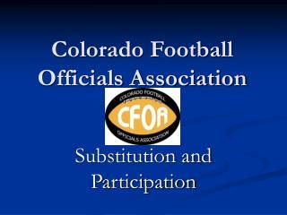 Colorado Football Officials Association