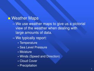 Weather Maps