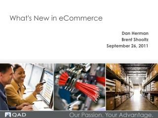 What's New in  eCommerce