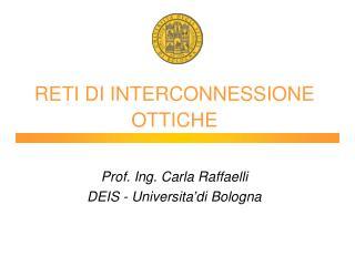 RETI DI INTERCONNESSIONE OTTICHE