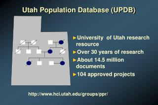 Utah Population Database (UPDB)