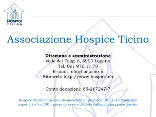 Associazione Hospice Ticino