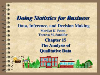 Chapter 15 The Analysis of Qualitative Data