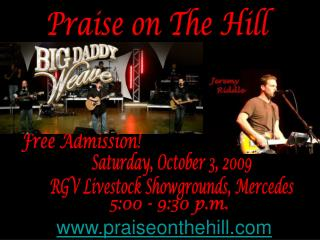 Praise on The Hill