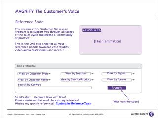MAGNIFY The Customer's Voice