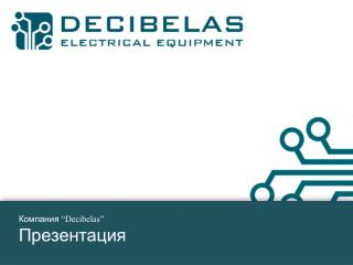 """Компания  """"Decibelas"""" Презентация"""