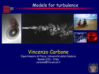 Models for turbulence