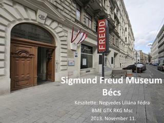 Sigmund Freud Museum Bécs