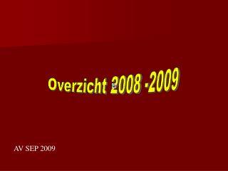 AV SEP 2009