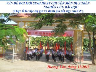 Hương Vân, tháng 11/2013