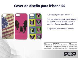 Cover  de diseño para iPhone 5S