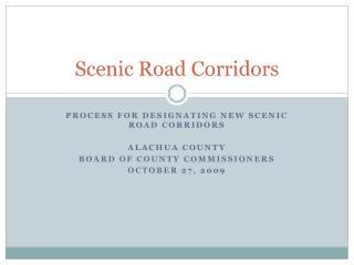 Scenic Road Corridors