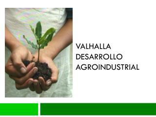 Valhalla  desarrollo agroindustrial