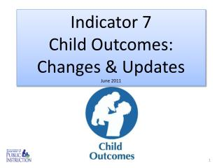 Indicator 7  Child Outcomes:  Changes & Updates June 2011