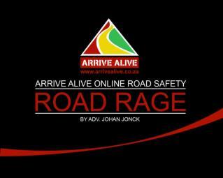 arrivealive road rage