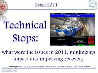 what were the issues in 2011, minimizing impact and improving recovery