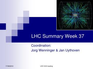 LHC Summary Week 37