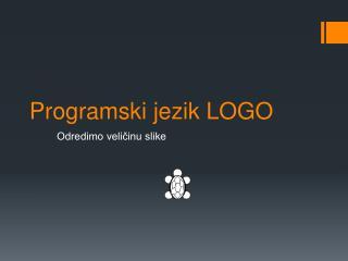 Programski jezik LOGO