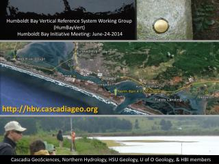 Humboldt Bay Vertical Reference System Working Group   ( HumBayVert )