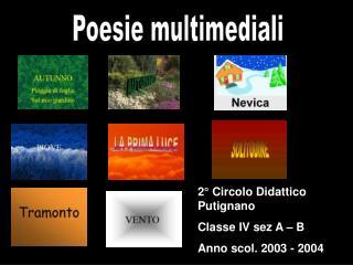 Poesie multimediali
