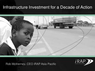 Infrastructure Investment for a Decade of Action