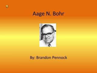 Aage N. Bohr