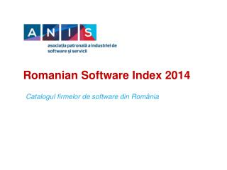 Romanian Software Index 2014