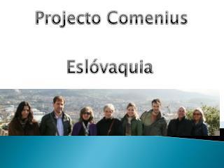 Projecto Comenius