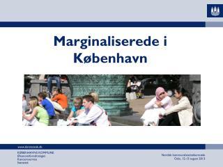 Marginaliserede i København