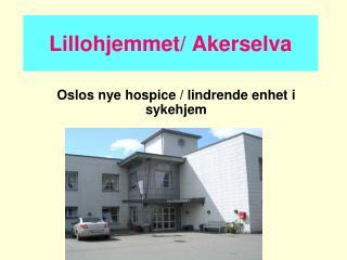 Lillohjemmet/ Akerselva