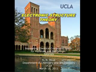ELECTRONIC STRUCTURE THEORY