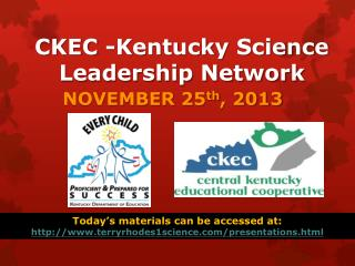 CKEC -Kentucky Science Leadership Network