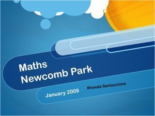 Maths Newcomb Park
