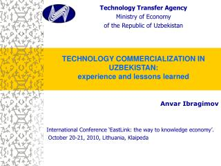 Anvar Ibragimov International Conference 'EastLink: the way to knowledge economy'.
