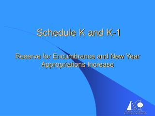 Schedule K and K-1
