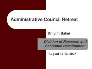 Administrative Council Retreat
